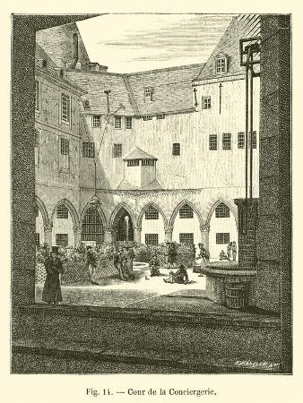 Cour De La Conciergerie