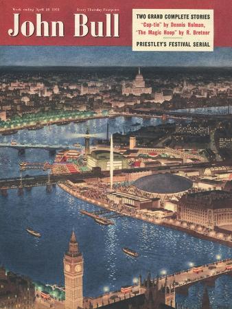 Front Cover of 'John Bull', April 1951