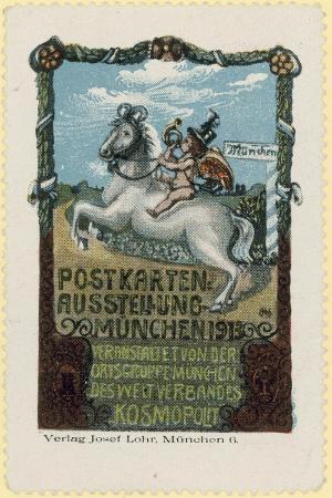 Postcard Exhibition, Munich, 1913