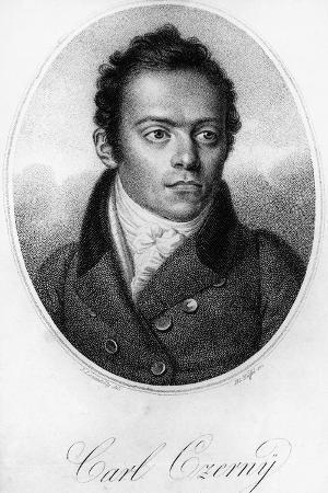 Portrait of Carl Czerny