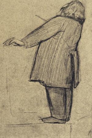 Caricature of Johannes Brahms