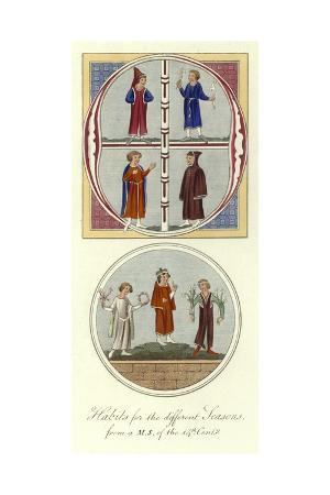 Habits for the Different Seasons, 14th Century
