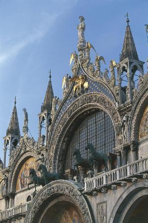 Italy, Veneto, Venice, Basilica Di San Marco