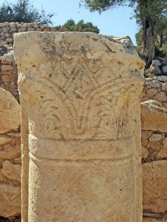 Carved Column, Patara, Turkey