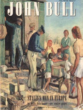 Front Cover of 'John Bull', August 1947