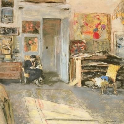 Madame Josse Hessel in Vuillard's Studio, 1915