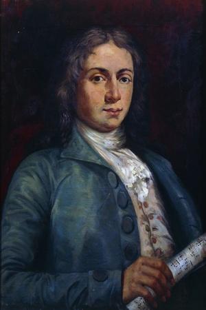 Portrait of Alessandro Scarlatti
