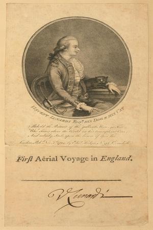 Vincent Lunardi, 1784