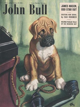Front Cover of 'John Bull', October 1949