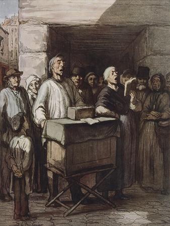 The Organ Player, Ca 1865
