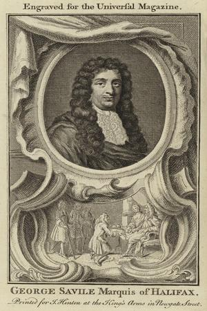 George Saville, Marquis of Halifax