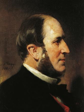 Portrait of Baron Haussmann