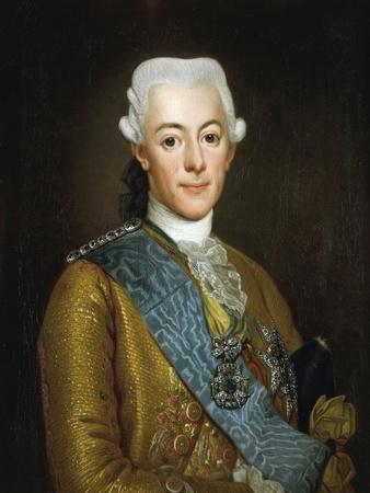Portrait of Gustav III of Sweden