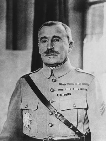 French General Robert Georges Nivelle