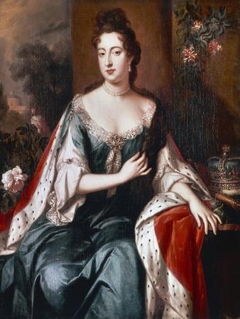 Queen Mary Ii, C.1692-94