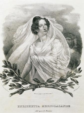 Portrait of Henriette Meric-Lalande