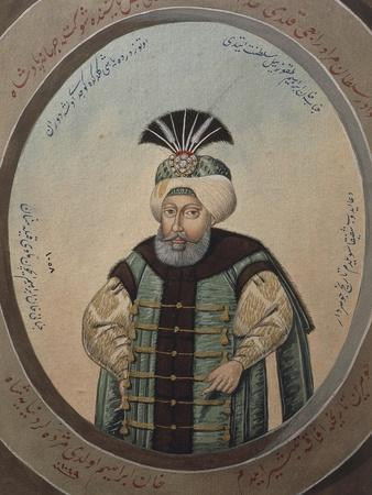 Portrait of Mehmet IV