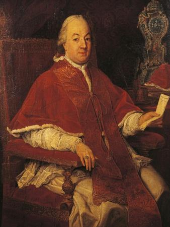 Portrait of Pope Pius VI