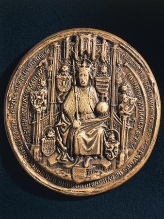 Seal of Albert V of Austria