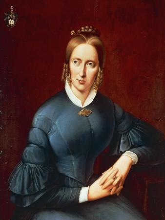 Portrait of Annette Von Droste-Hulshoff