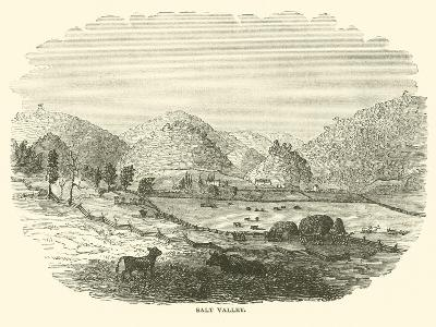 Salt Valley, December 1864