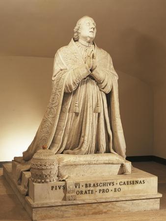 Marble Statue of Pius VI
