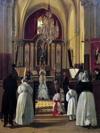 First Communion of Leopoldine