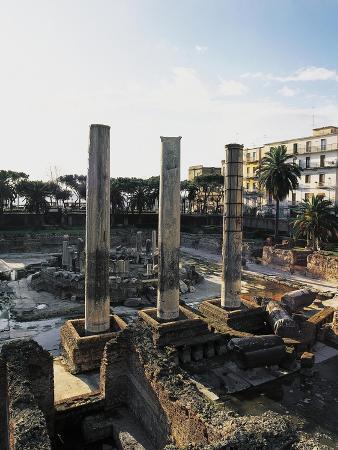 Temple of Serapis or Serapeum, Macellum