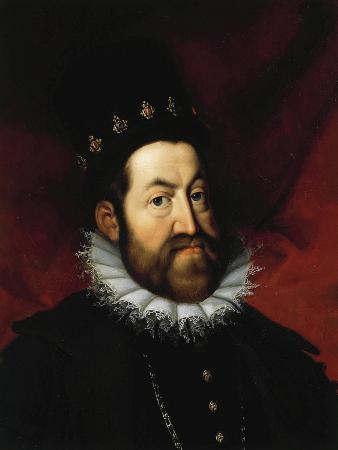 Portrait of Rudolf II of Habsburg