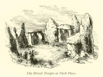The Druid Temple at Park Place