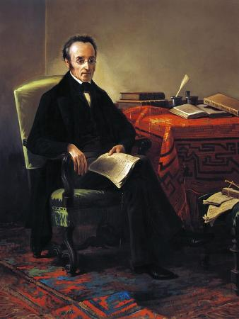 Portrait of Silvio Pellico