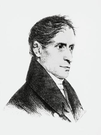 Portrait of Joseph Freiherr Von Eichendorff