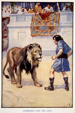 Androclus and the Lion, 1914