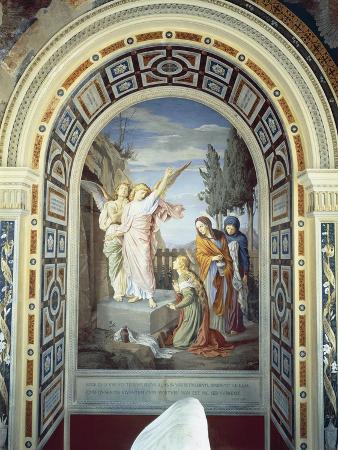 Three Marys at Tomb, 1880