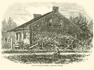 Lee's Headquarters, Seminary Ridge, July 1863