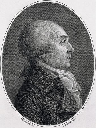 Portrait of Jacques-Rene Hebert