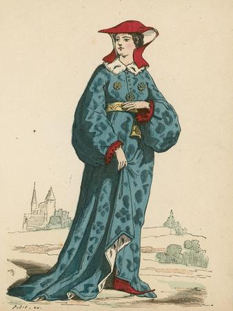 French Noblewoman, 1395