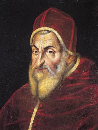 Portrait of Pope Sixtus V