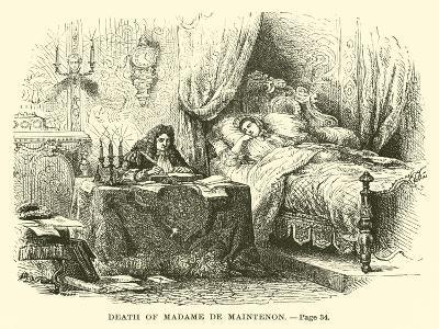Death of Madame De Maintenon