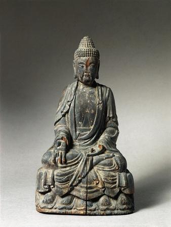Statuette Representing Buddha