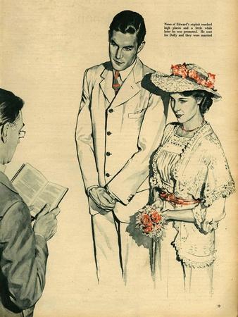 Illustration from 'John Bull', 1958