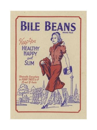 Advertisement for Bile Beans