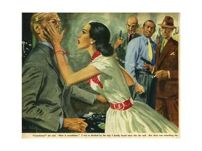 Illustration from 'John Bull', 1951
