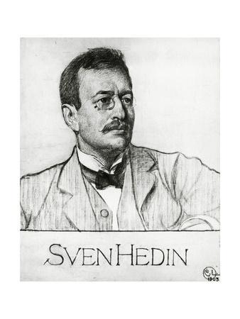 Portrait of Sven Anders Hedin