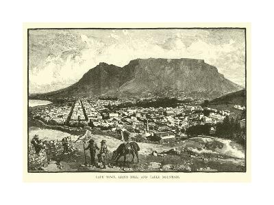 Cape Town, Lion's Hill, and Table Mountain
