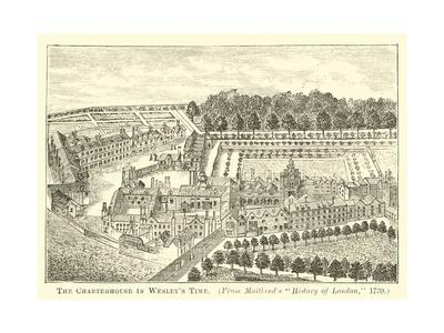 The Charterhouse in Wesley's Time