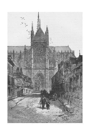 Porch of the Golden Virgin: Amiens Cathedral