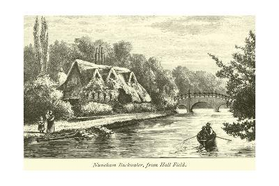 Nuneham Backwater, from Hall Field