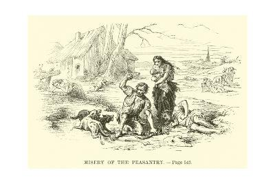 Misery of the Peasantry