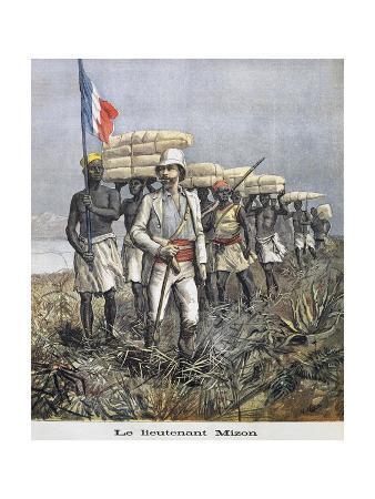 French Explorer Antoine Mizon